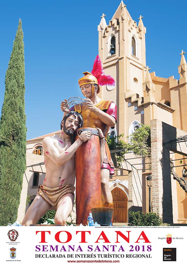 Se Presenta El Cartel Anunciador De La Semana Santa De Totana 2018